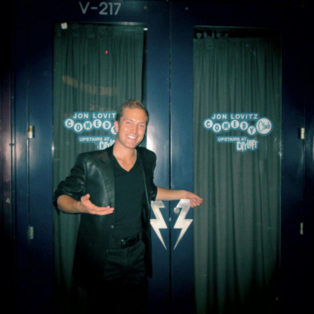 Ryne Performing At Jon Lovitz Comedy Club